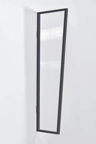 Vordach Seitenblende Stegplatte klar
