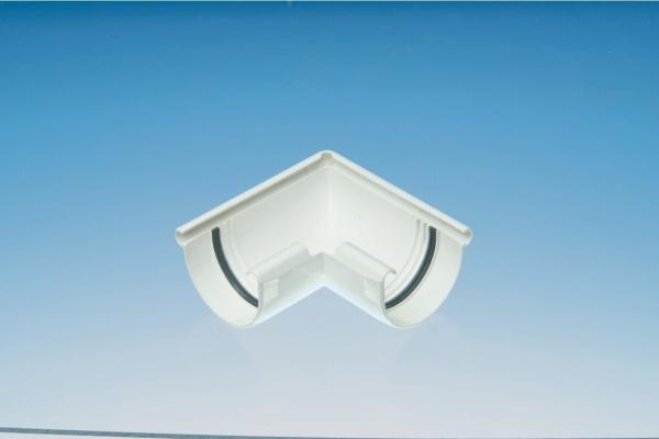 Dachrinnen PVC Eckverbinder