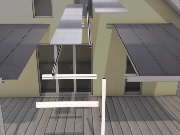 Terrassendach Erweiterungsmodul